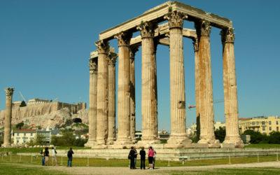 El Templo Olímpico de Zeus en Atenas