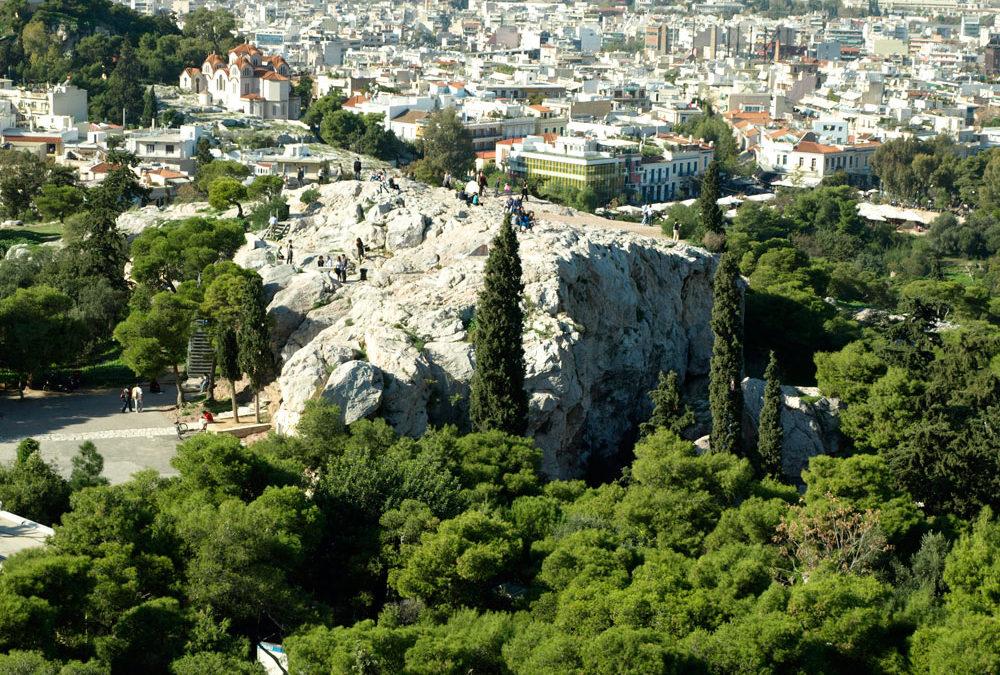 El Apóstol Pablo en Atenas