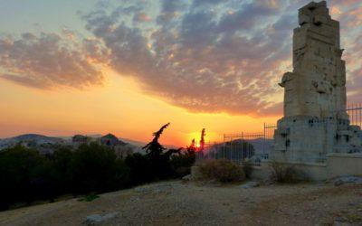 Colinas alrededor de la Acrópolis, sus historias