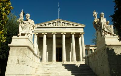 La Academia de Platón, escuelas filosóficas