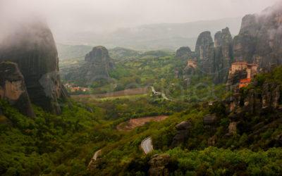 Kalambaka, el turismo a la sombra de Meteora