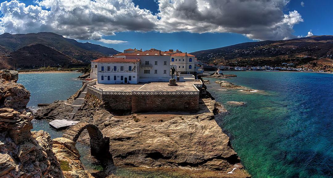Andros, impresionante isla de belleza natural
