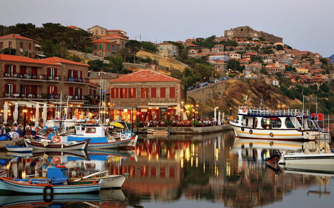 Lesbos, la isla de castillos y bosques