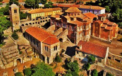 El Monasterio de Osios Lukás, arquitectura bizantina