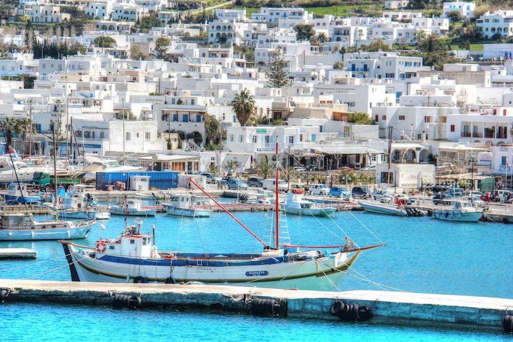 Antiparos, una pequeña isla griega de gran belleza
