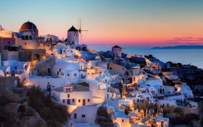 Santorini, un viaje a la isla griega de la paz