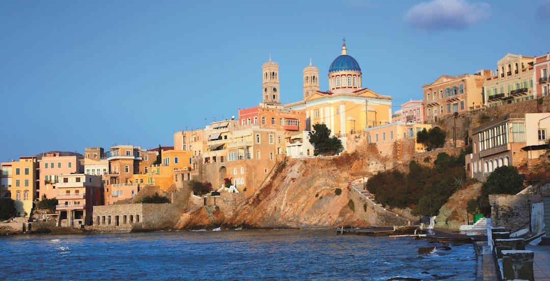 Siros, una isla para disfrutar de lindas y felices vacaciones