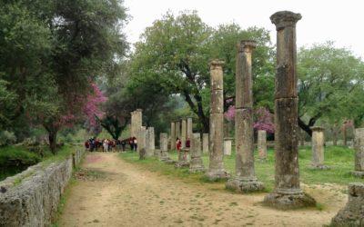 EL Sitio arqueológico de Olimpia
