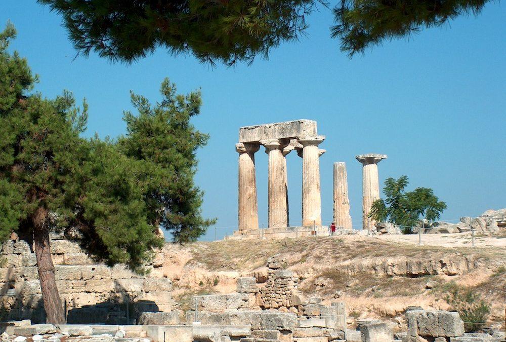 Corinto, la ciudad de la primera fuerza naval griega