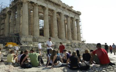 Grecia patrimonio del turismo cultural