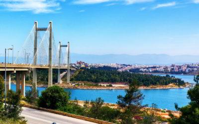 Evia, la isla del puente brillante