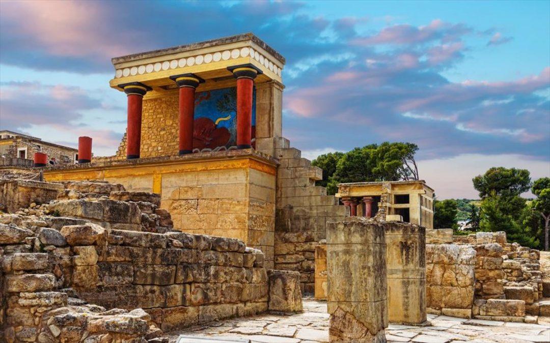 Knossos, el principal centro de la civilización minoica