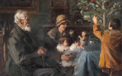 Las tradiciones de navidad y año nuevo en el arte griego