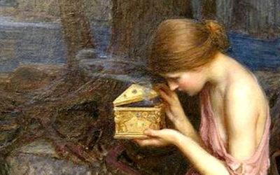 El mito de Pandora y su caja misteriosa