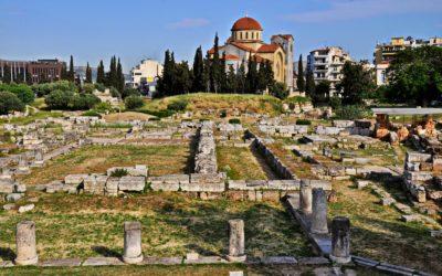 Keramikós, el cementerio más ilustre de Grecia