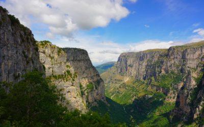 El desfiladero Vikos Gorge