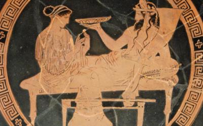 La comida de los antiguos griegos