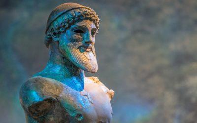 Poseidón el dios del mar