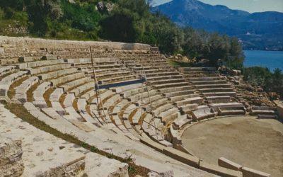 La ciudad antigua de Epidauro